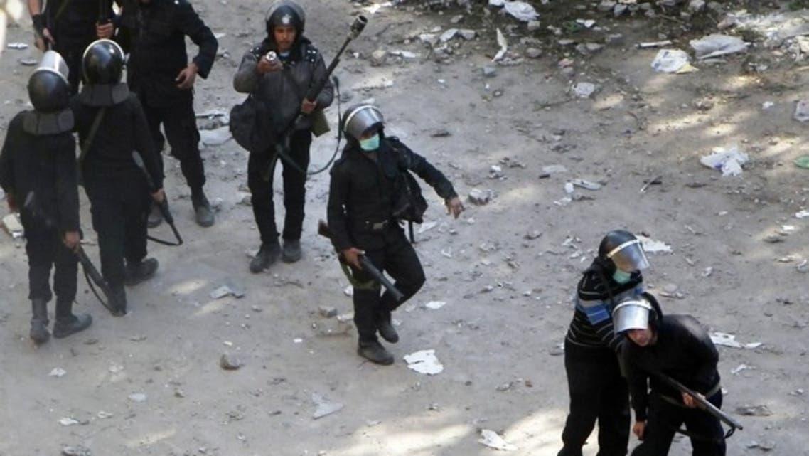 قوات الأمن في ميدان التحرير