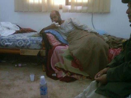 الصورة الأولى لسيف الإسلام القذافي بعد اعتقاله