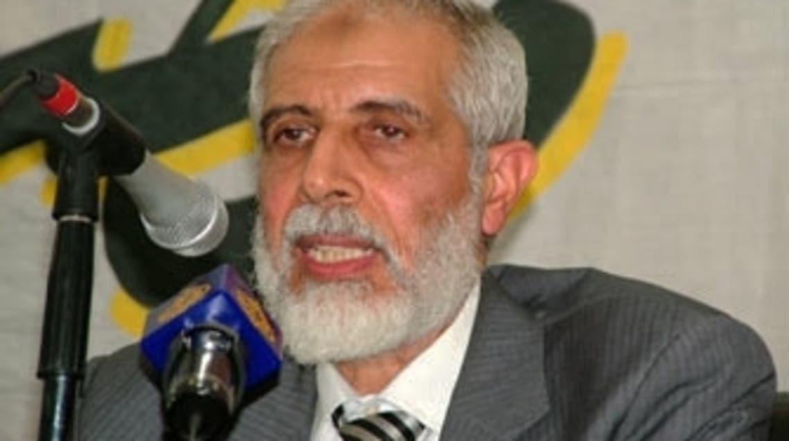 نائب المرشد العام للإخوان المسلمين محمود عزت