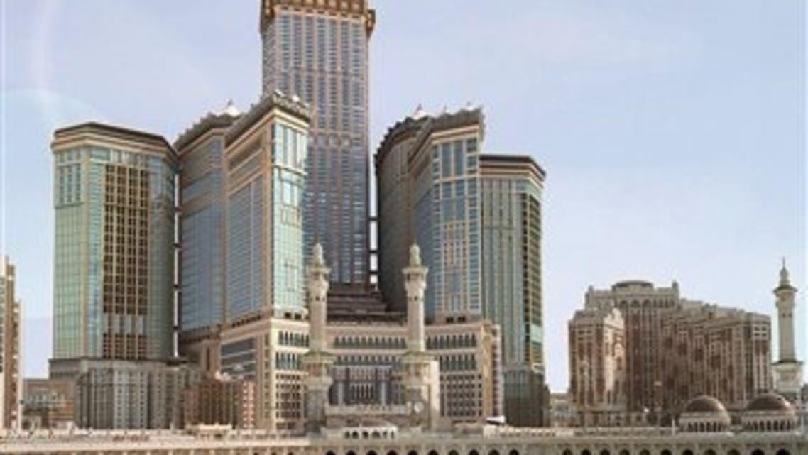 Mecca Royal Clock Hotel Tower is Saudi Arabia\'s tallest building. (File photo)