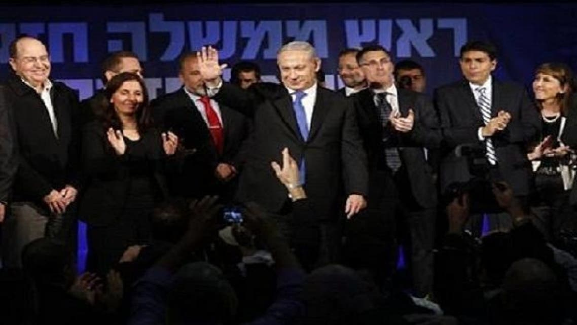 Netanyahu, in consultations with potential coalition partners, met with Lapid at length on Thursday. (Reuters)