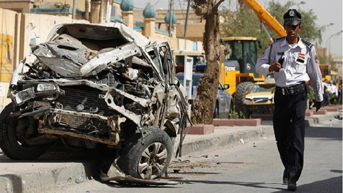 A series of car bombs in and around the Iraqi capital killed at least 16 people and wounded dozens of others.(AFP)