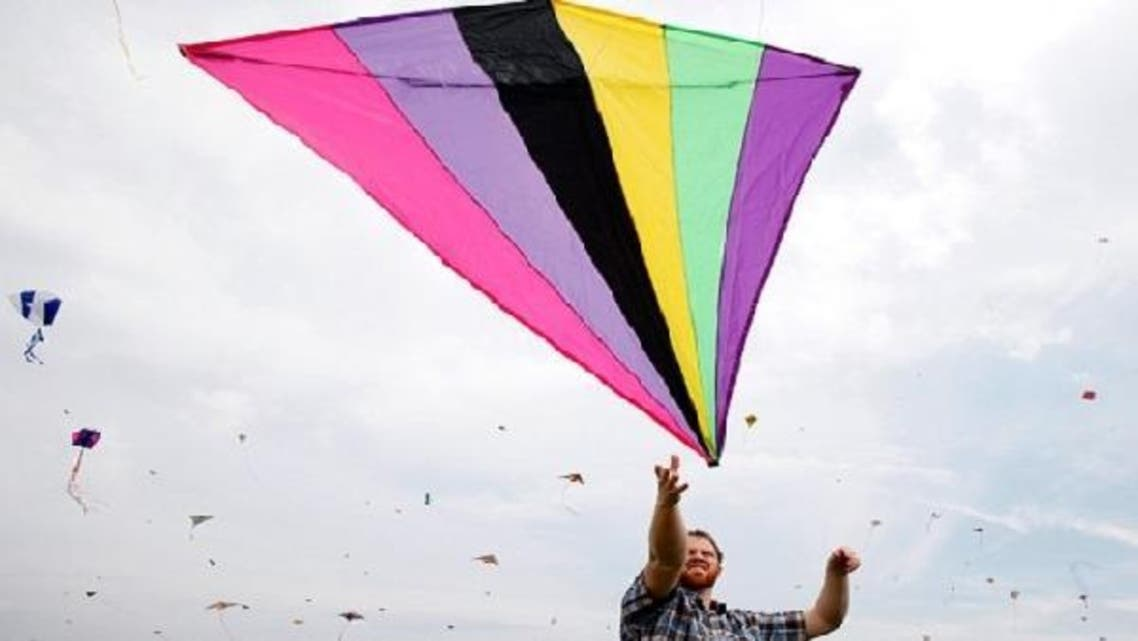 Colorful kites of all shapes and sizes will be on display at the International Kite Festival this Friday. (Reuters)