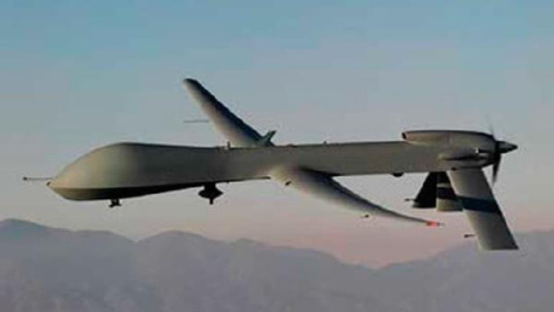 A security source said a drone targeted a vehicle: killing seven people on board. (AFP)
