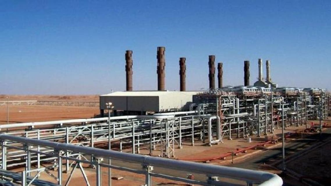 Amenas gas field complex in Algeria, where hostages were held by the Islamist militants. Libya and Egypt are to secure oil fields as Islamist militants threatened to attack new installations in north Africa. (AFP)