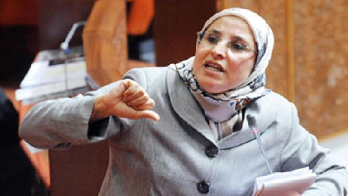 The 52-year-old minister, Bassima Hakkaoui, said she respects journalists despite some who do not verify their reports before publishing.  (AFP)