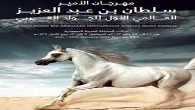 انطلاق مهرجان الأمير سلطان العالمي للخيول العربية بالرياض