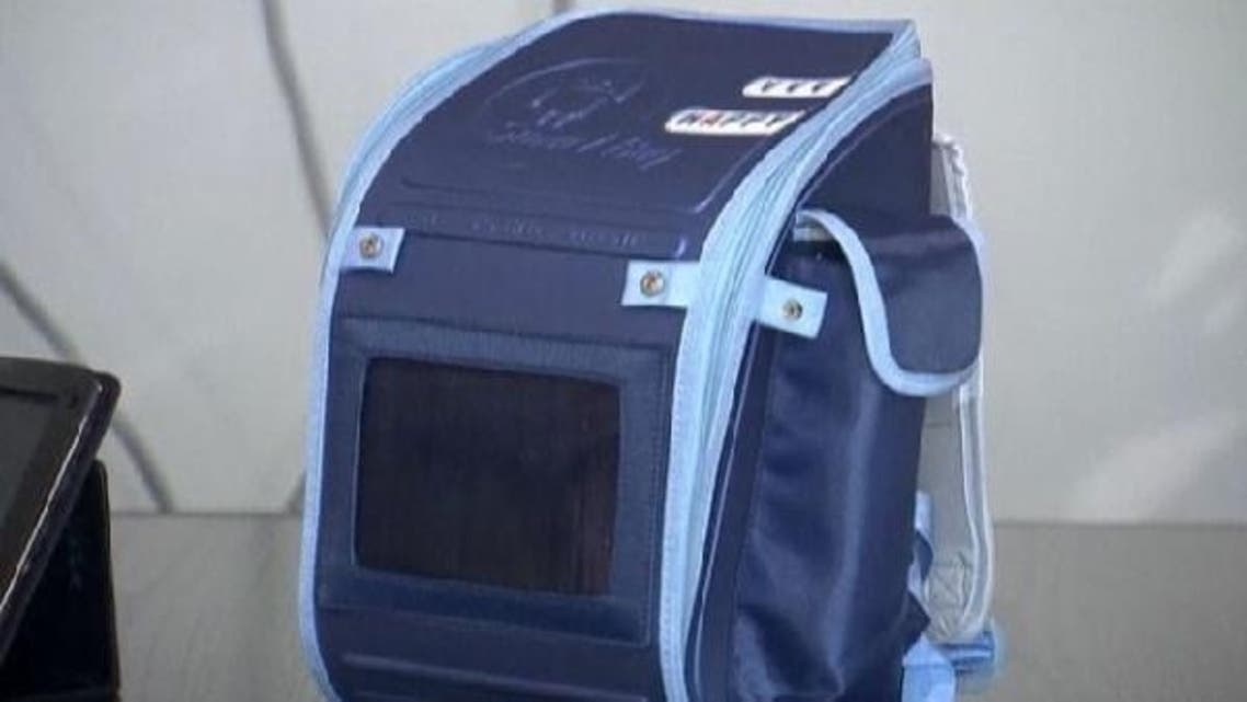 A Saudi man says he has designed a 'smart bag:' a school bag that allows parents to keep tabs on their children and sends coursework straight from the classroom to a computer in the bag. (Reuters)