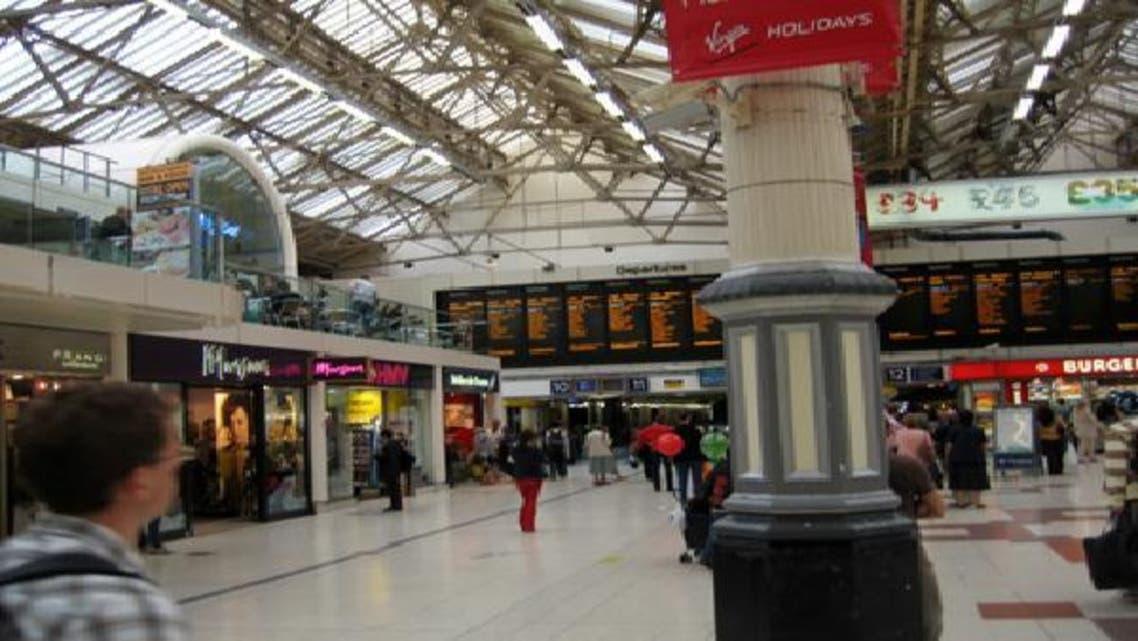 محطة فيكتوريا في لندن