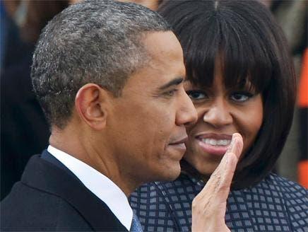 أوباما يؤدي اليمين الدستورية أمام مئات الآلاف من محبيه