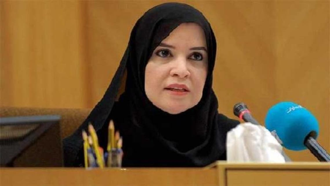 Dr. Amal Abdullah al-Qubaisi  is currently the first deputy speaker of the Federal National Council. (Image courtesy: WAM)