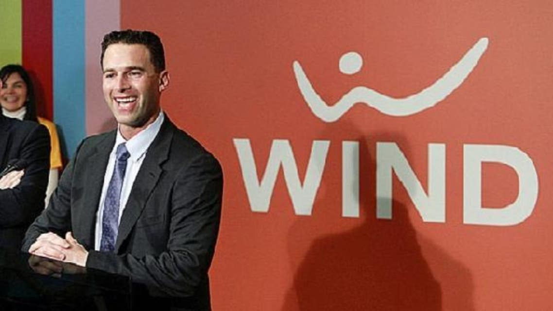 CEO of Canada's Wind Mobile Anthony Lacavera, 38, who established the company in 2008 as Canada's fourth-largest wireless carrier with some 600,000 subscribers steps down as Egypt's Orascom takes control of the carrier. (Reuters)