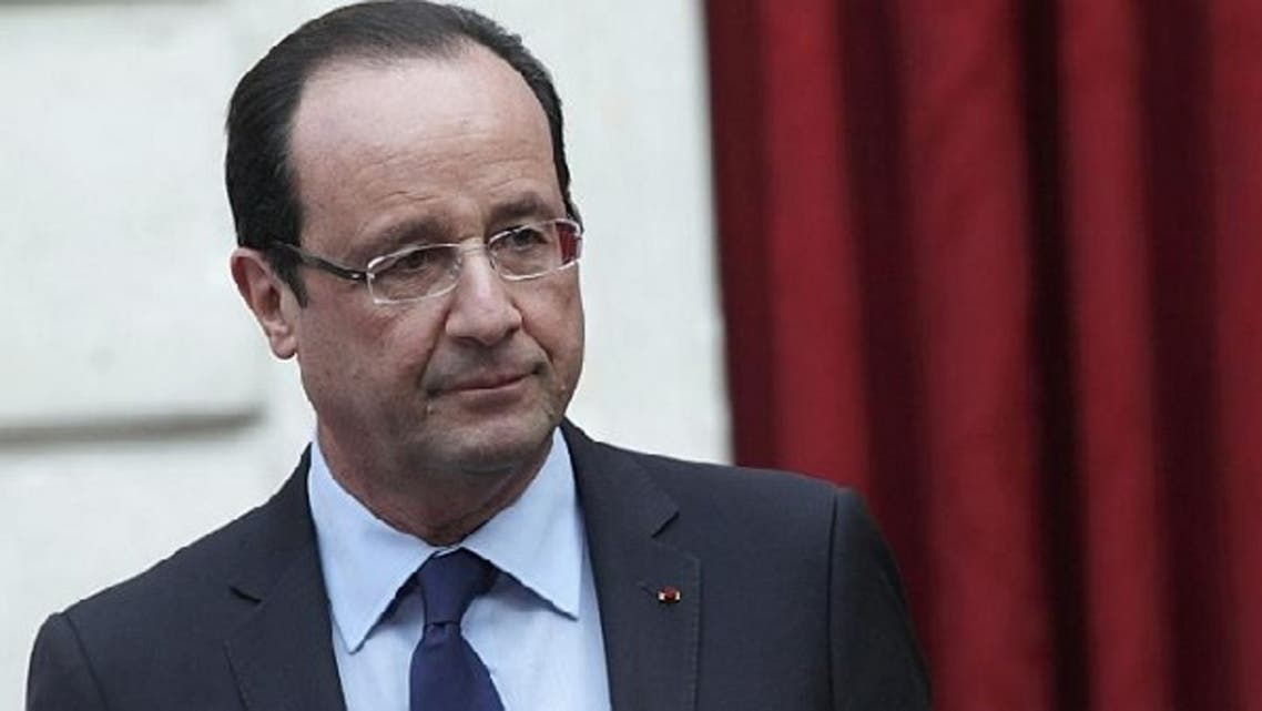 French President Francois Hollande's visit to the UAE is an attempt to outmaneuver rivals including Britain, which is to send a Foreign Office under-secretary in support of Royal Dutch Shell, at an Abu Dhabi energy conference, where the deal will be discussed on the sidelines. (Reuters)