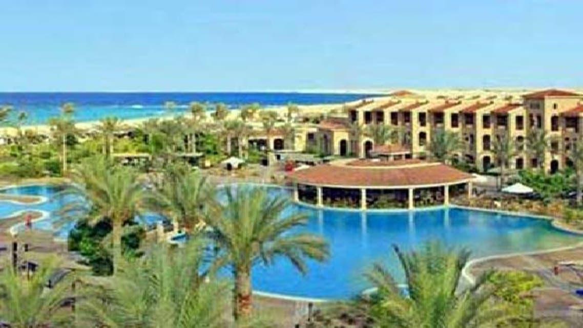منتجع سياحي في مرسى مطروح