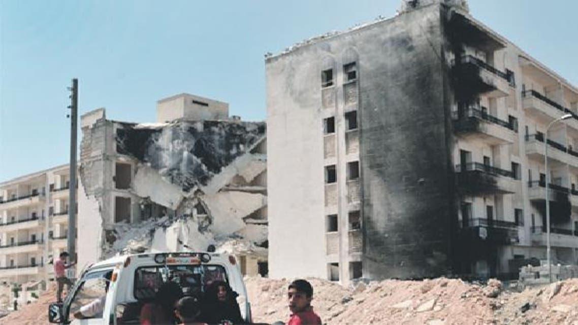 الدمار طال أحياء كثيرة في حلب
