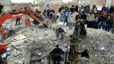 Cairo building partially collapses; three dead: Egypt officials