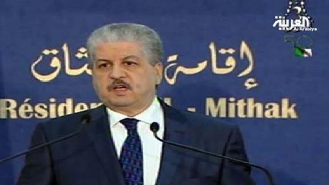 الجزائر کے وزیر اعظم عبدالمالک سلال