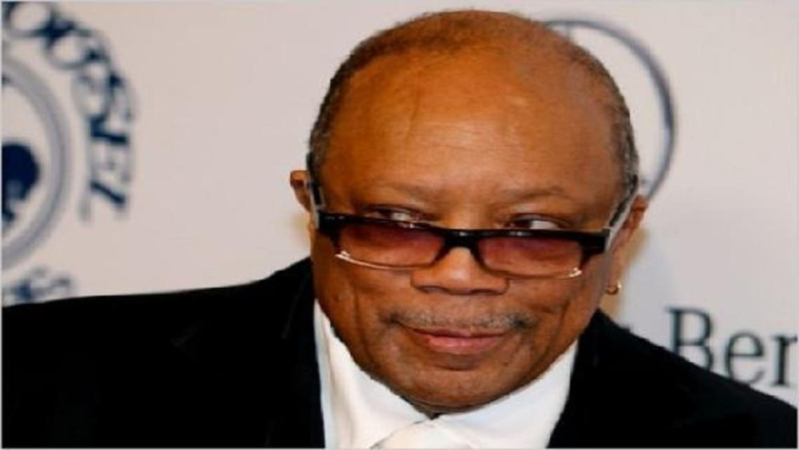 The Global Gumbo Group, set up by Quincy Jones (pictured) and Badr Jafar, will host the music week at Dubai's World Trade Center. (Reuters)