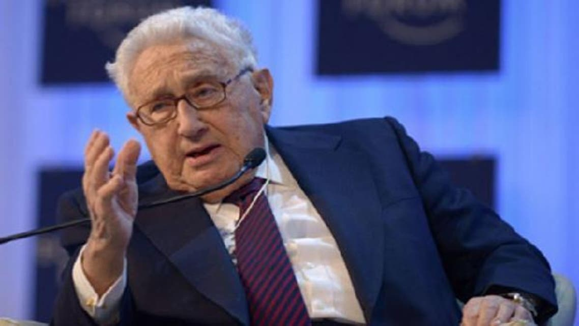 Former U.S. secretary of state Henry Kissinger said that the Syrian conflict has been transformed into a sectarian conflict. (AFP)