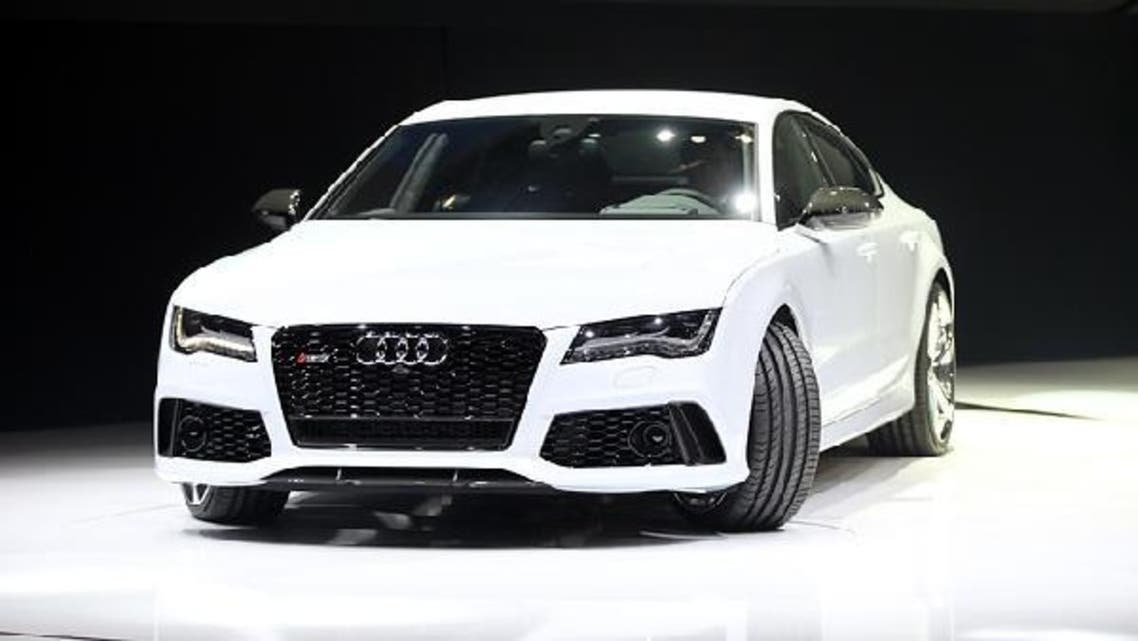Globally Audi plans to boost deliveries to more than 2 million cars and sport-utility vehicles by 2020, as it aims to snatch leadership of the luxury car market from BMW. (AFP)