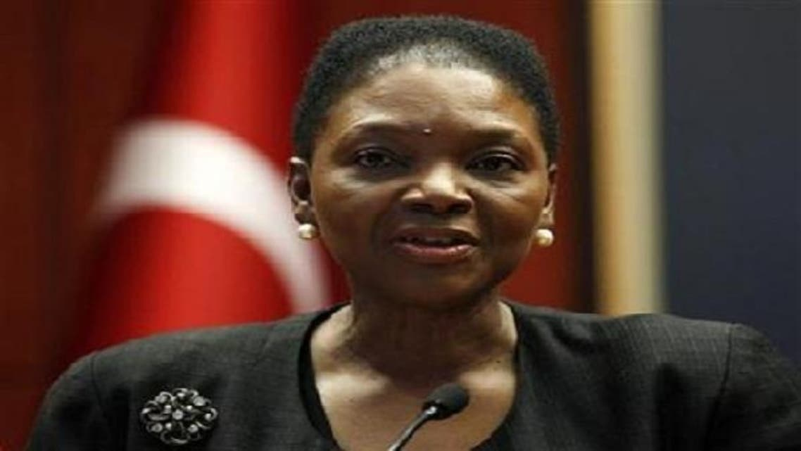 Speaking at the World Economic Forum in Davos, UN aid chief Valerie Amos said the humanitarian situation in Syria was already catastrophic. (Reuters)