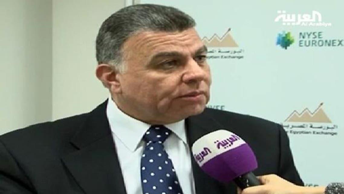 وزير الاستثمار المصري أسامة صالح متحدثاً للعربية