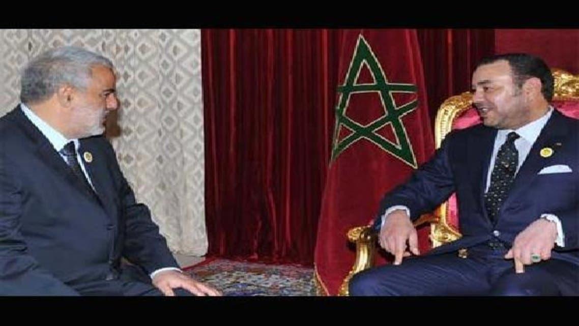 محمد السادس وعبد الإله بنكيران