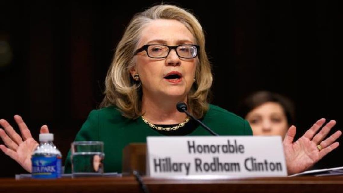 U.S. Secretary of State Hillary Clinton testifies on the September attacks on U.S. diplomatic sites in Benghazi, Libya, during a Senate Foreign Relations Committee hearing on Capitol Hill in Washington Jan. 23, 2013. (Reuters)