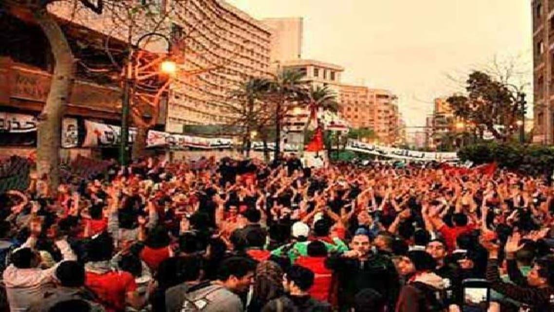 ألتراس أهلاوي ينظم 4 مسيرات للمطالبة بالقصاص لقتلى بورسعيد