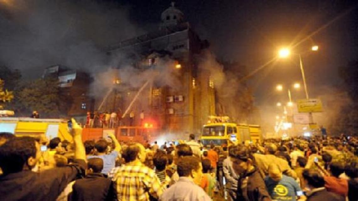 In 2011, after a clash between Copts and Muslims which led to a church being burned down, Egypt's government promised justice. (AFP)