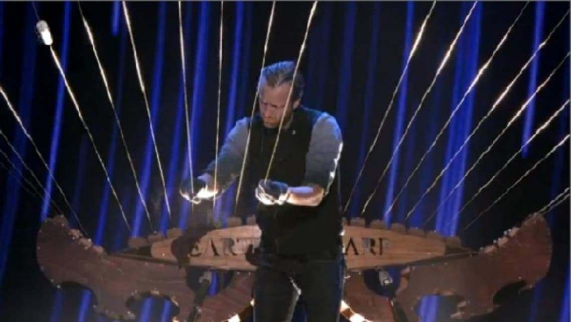 """William Close plans to play """"the Earth Harp,"""" described as """"a musical instrument unlike any other."""" (Image courtesy: NBC)"""