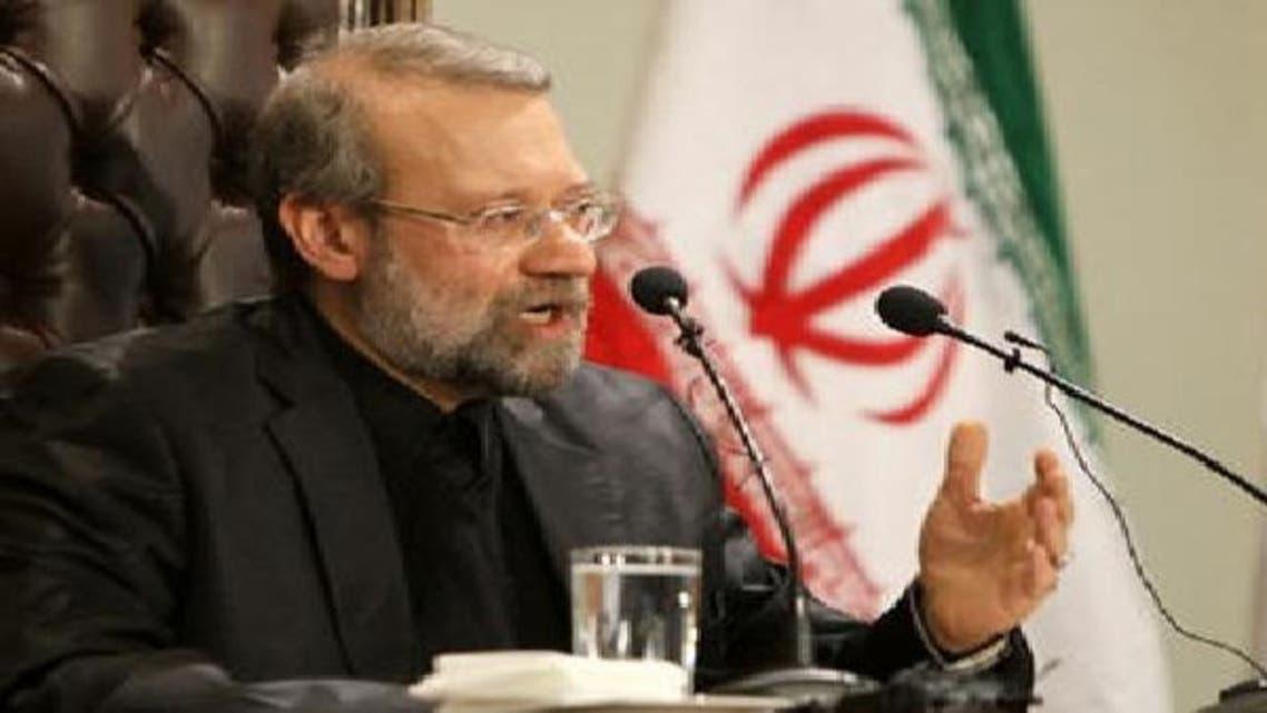 رئيس مجلس الشورى الإيراني علي لارجاني