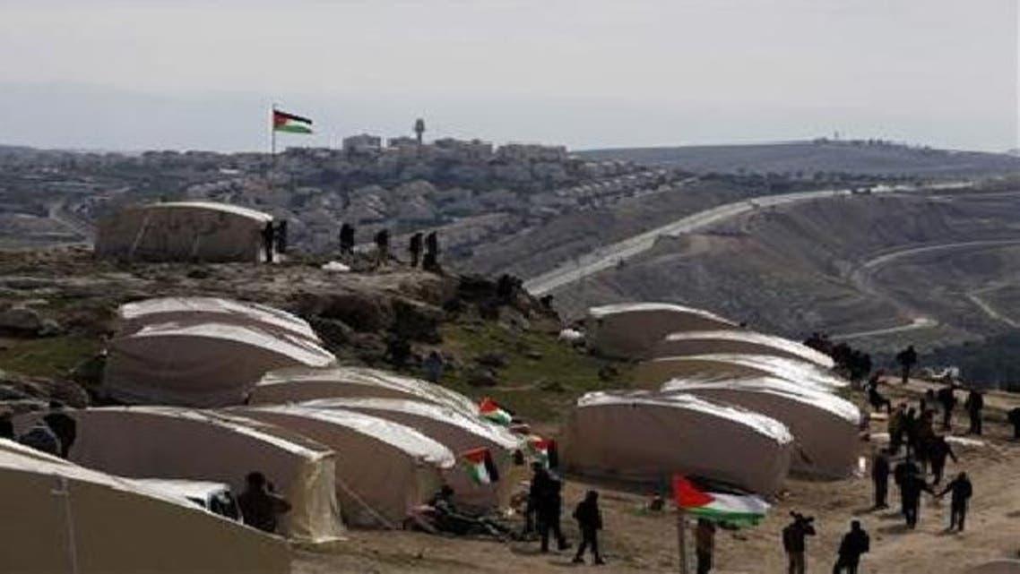 یہودی بستی کے لئے مختص جگہ سے فلسطینیوں کا زبردستی انخلا