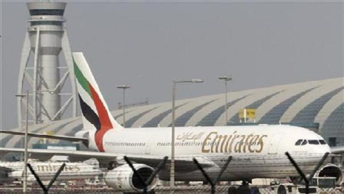 "The Dubai based airlines, Emirates was awarded as the ""Best Arab Airlines"" in the year 2012 during the Sabq Tourism Awards in Riyadh, Saudi Arabia. (Reuters)"