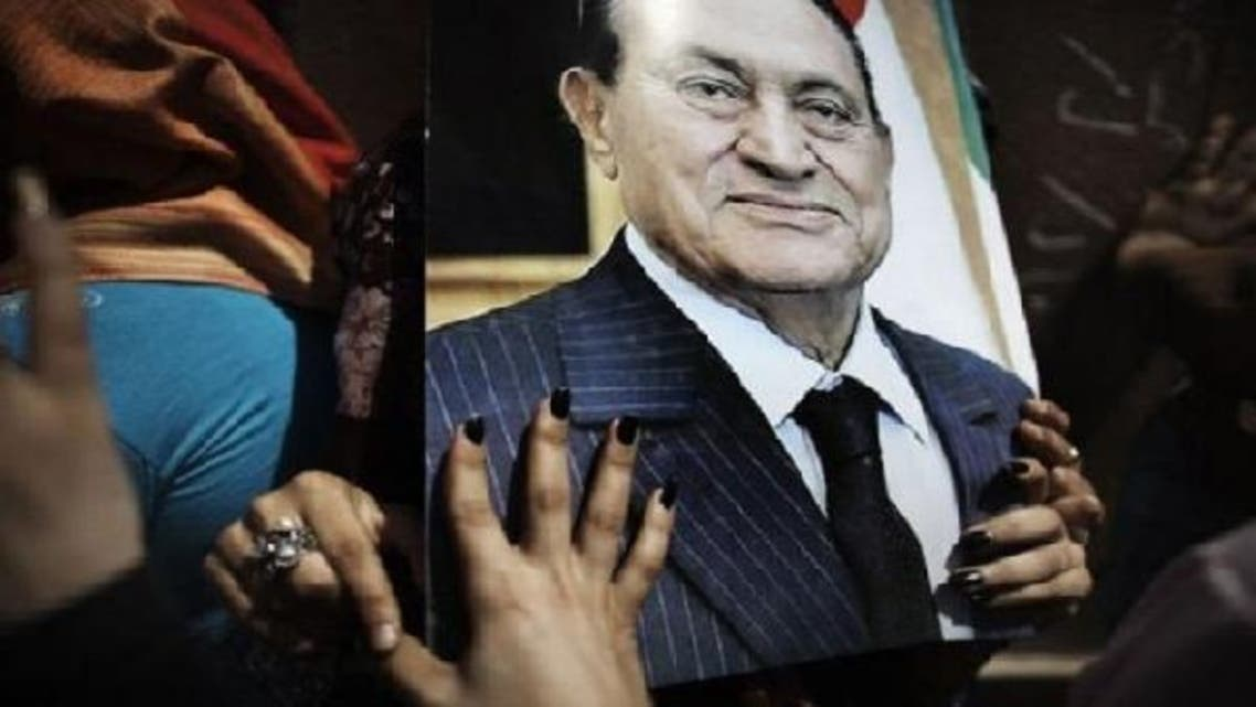 According to the official MENA news agency, Mubarak received gifts worth seven million Egyptian pounds (around one million dollars) from the Al-Ahram press foundation between 2006 and 2011 when he was ousted. (AFP)