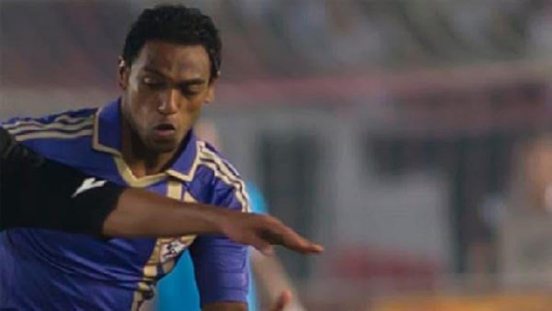 Egyptian Zamalek's midfielder, Ahmed El Merghany, will play for Kuwait's Tadamun club till the ongoing season ends.(Photo Courtesy Al-Ahram)