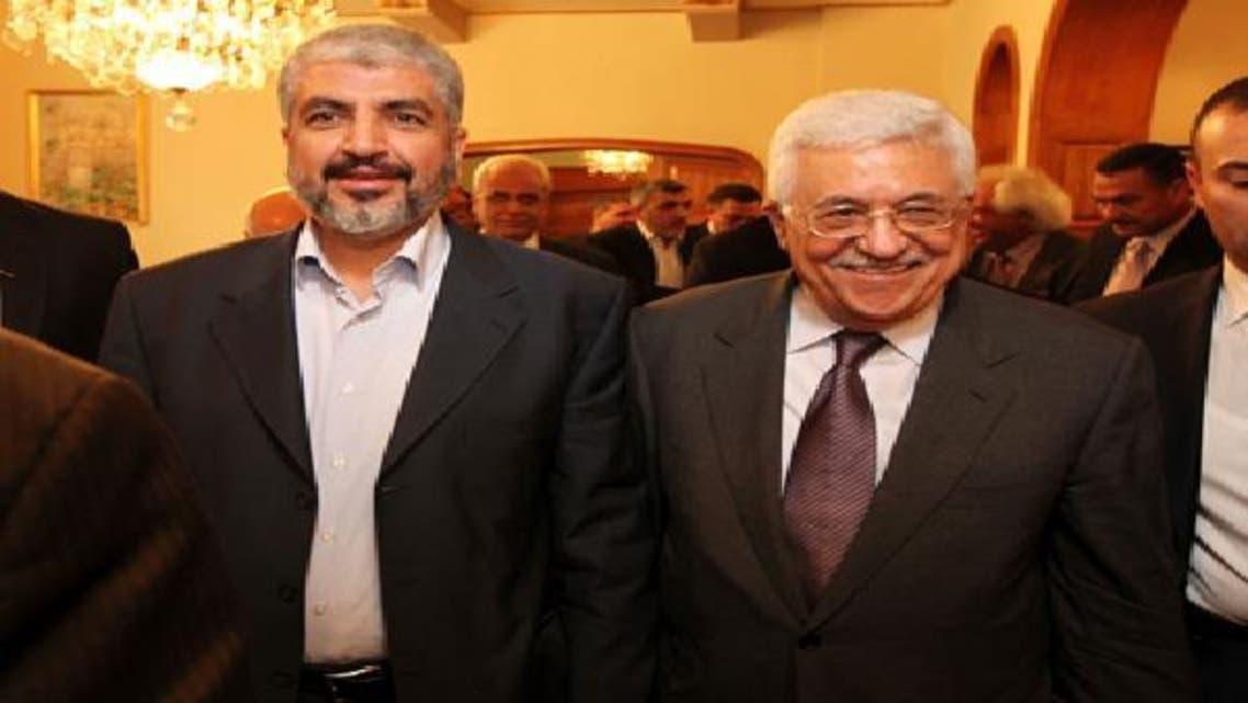 """عباس ومشعل اتفقا بالقاهرة على تنفيذ \\""""المصالحة الفلسطينية\\"""""""