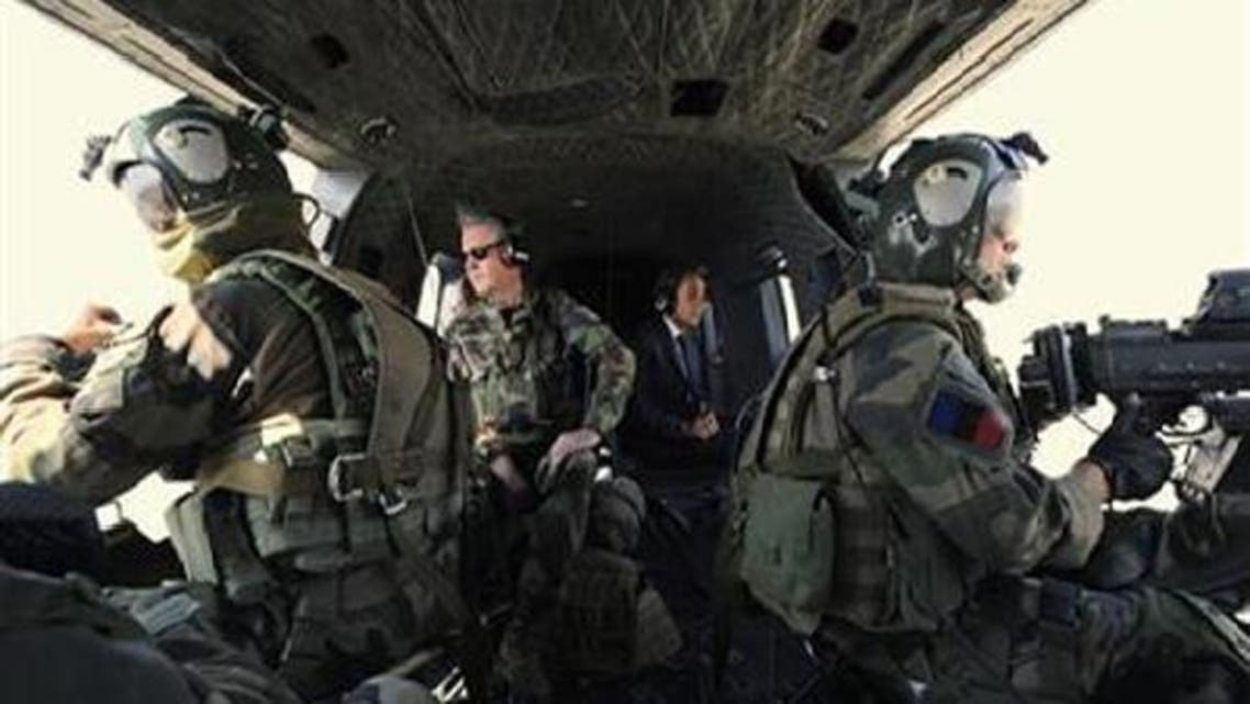 The French Army has begun military operations against al-Qaeda-linked groups in Mali. (Reuters)