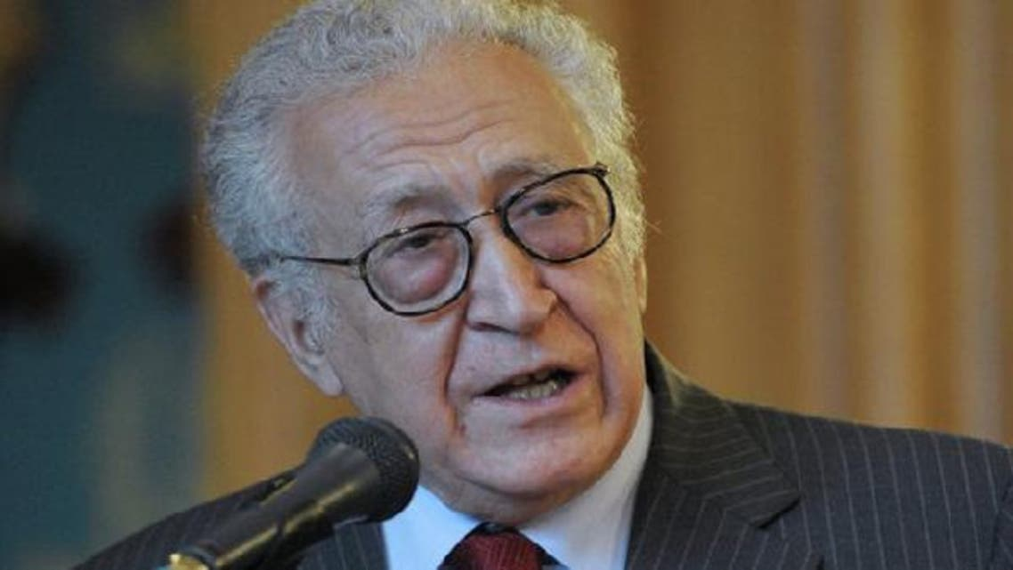 "International mediator Lakhdar Brahimi urges world powers to \""create and opening\\"" to help stem the bloodshed in Syria. (Reuters)"