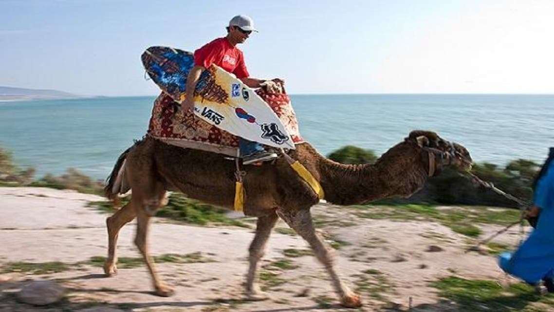 """Morocco's first """"surf festival"""" and radiant sunshine held at Taghazout brought a wave of surfers from across the world to the country's Atlantic coast, which is now known as a top surf destination. (Courtesy: The National Geographic)"""