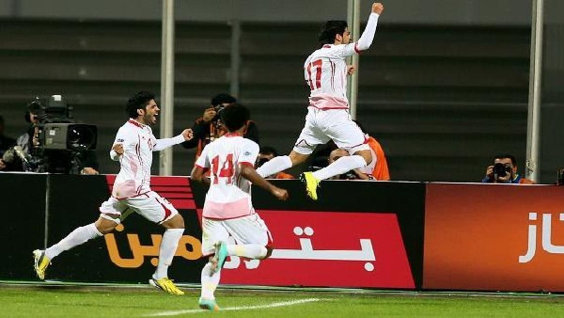 With a semi-final place already assured, on Thursday the United Arab Emirates looked ahead to their final Gulf Cup Group a game against Oman in Bahrain. (AFP)