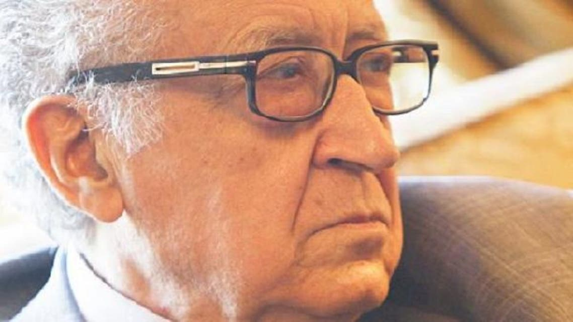 """International peace envoy for Syria Lakhdar Brahimi has been labeled as \\""""biased\\"""" by the Syrian foreign ministry. (Reuters)"""