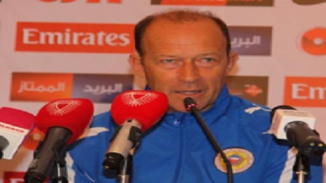 مدرب منتخب البحرين كالديرون