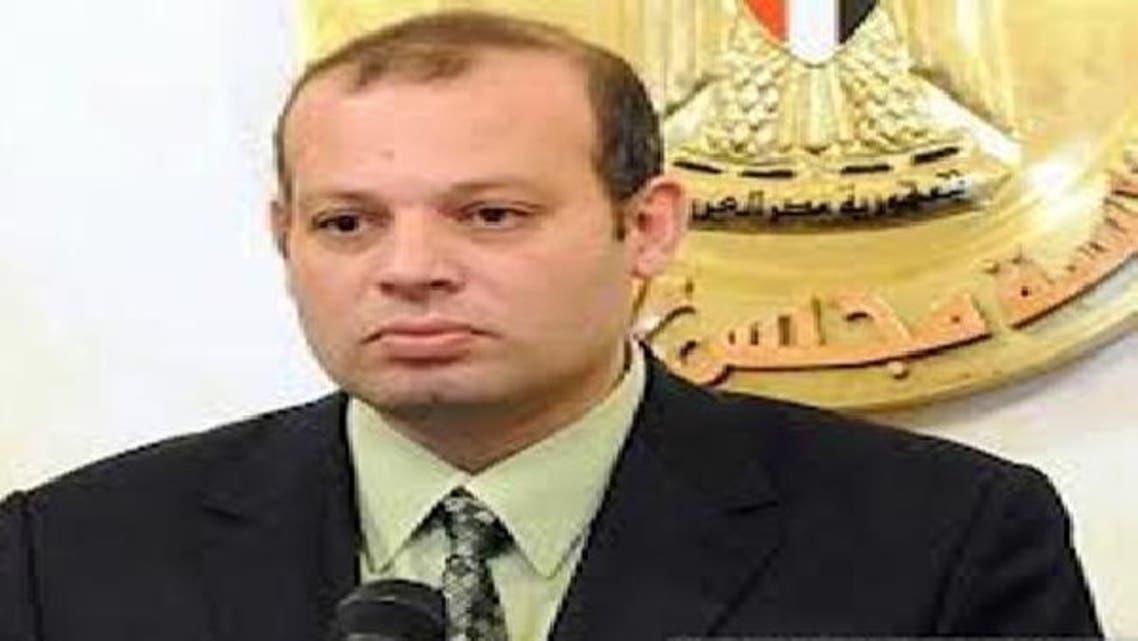 وزير الصناعة المصري حاتم صالح