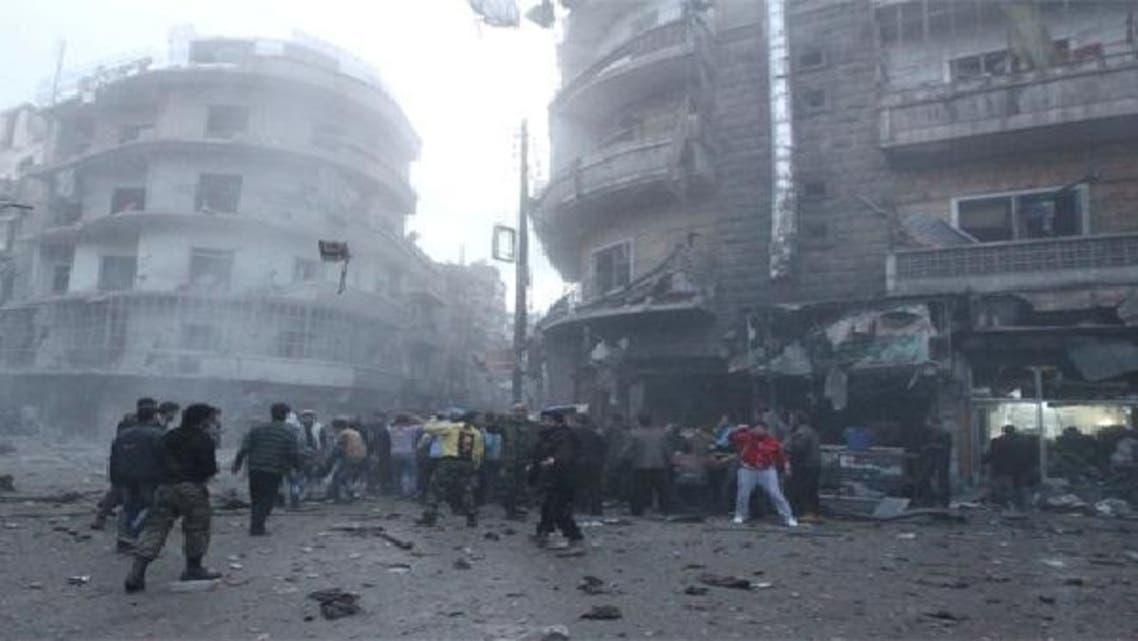 شامی مہاجرین کے کیمپ میں آتشزدگی، 10 افراد جاں بحق