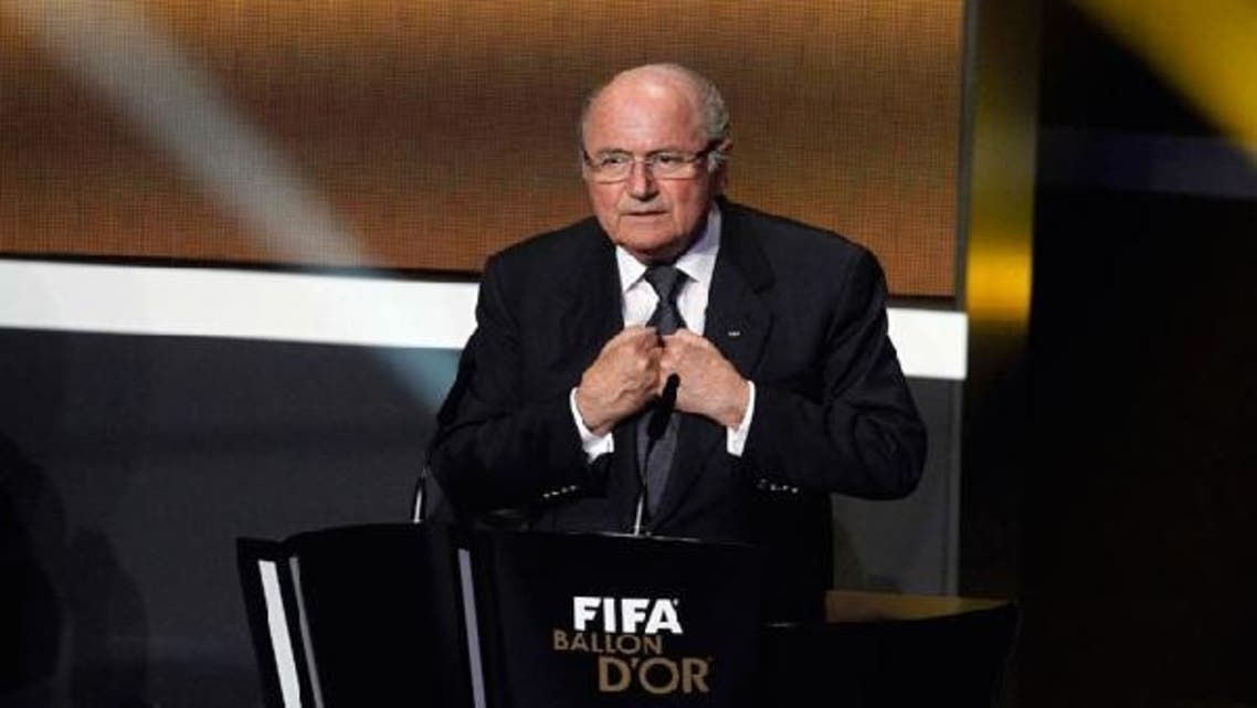 Sepp Blatter, president of the FIFA football association says the election of former soccer player Ahmed Eid al-Harbi as the first freely chosen head of the SFF is an achievement and an example to other Gulf states. (Al Arabiya)