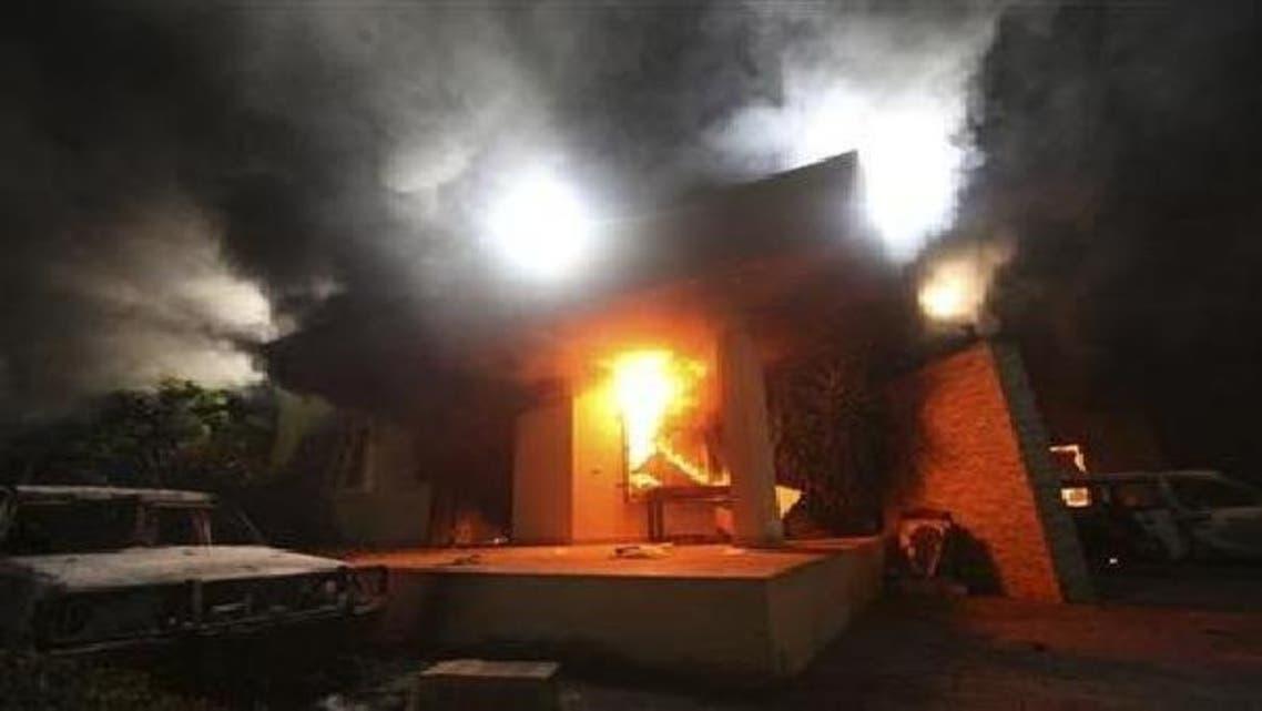 لیبیا کے شہر بن غازی میں مظاہرین نے امریکی قونصل خانے پر تباہ کن حملہ کیا تھا۔