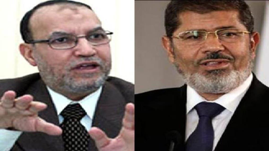 ڈاکٹر محمد مرسی اور ڈاکٹر عصام العریان
