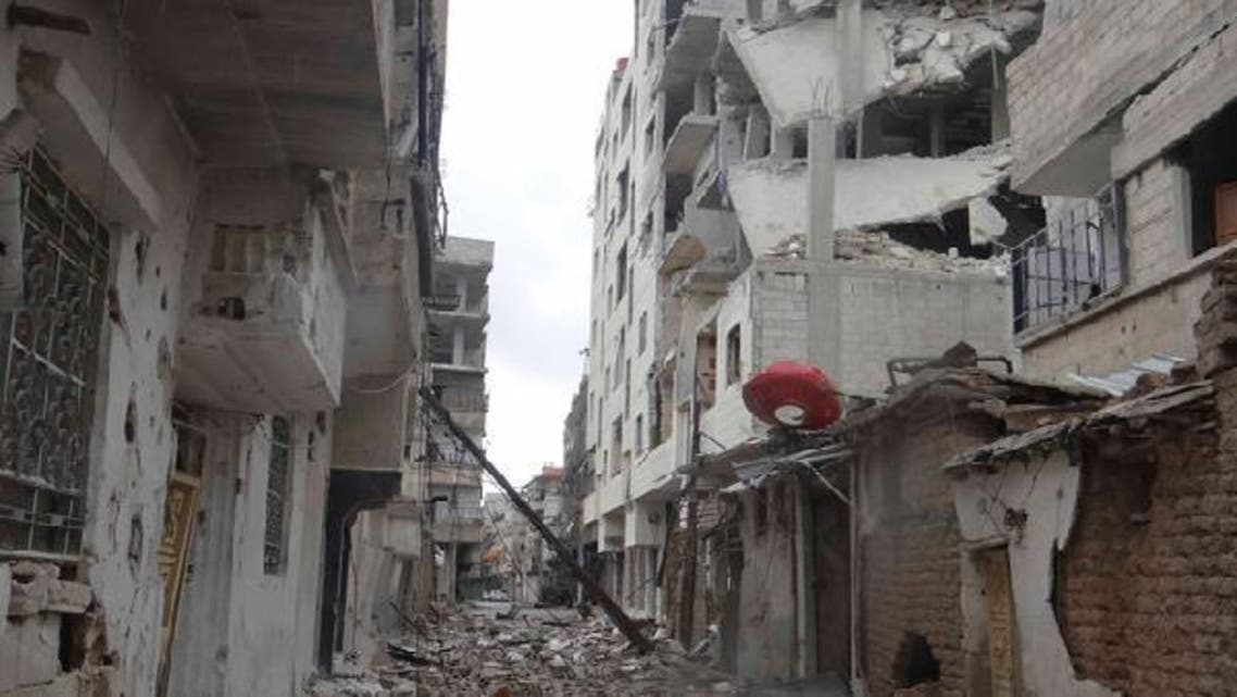About half of Yarmouk's 150,000 residents have fled since fighting erupted in mid-December. (Reuters)
