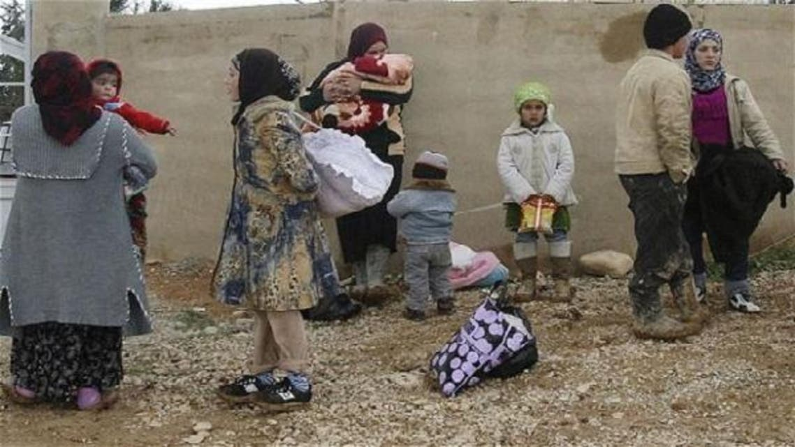 Syrian refugees in Lebanon have totaled 125,000, according to UN figures, 200,000 according to government estimates. (Reuters)